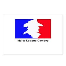 Major League Cowboy Postcards (Package of 8)