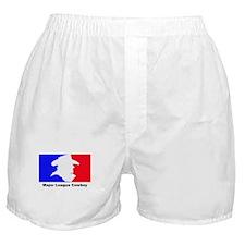 Major League Cowboy Boxer Shorts