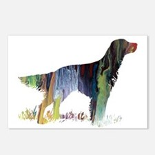 English setter Postcards (Package of 8)