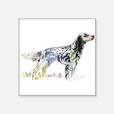 English setter Sticker