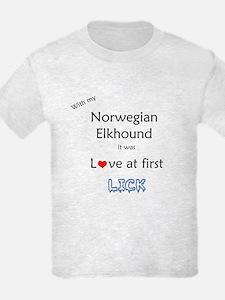 Elkhound Lick T-Shirt