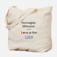 Elkhound Lick Tote Bag