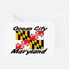Ocean City Maryland Greeting Cards (Pk of 10)