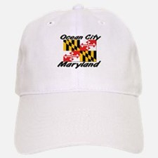 Ocean City Maryland Baseball Baseball Cap