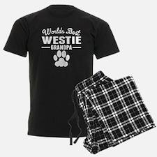 World's Best Westie Grandpa Pajamas