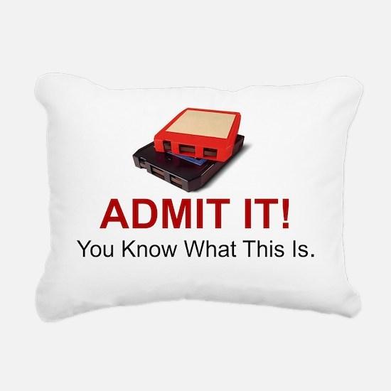 Cute Admit Rectangular Canvas Pillow