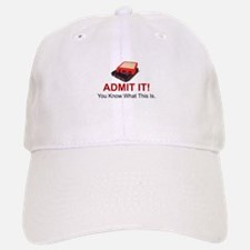 ADMIT IT! YOU KNOW WHAT THIS IS - 8 TRACK CA Baseball Baseball Cap