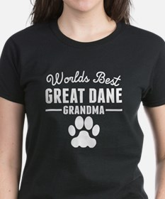 World's Best Great Dane Grandma T-Shirt