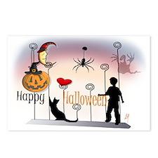 """Halloween 1"" Postcards (Package of 8)"