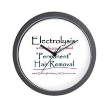 Electrolysis Wall Clock