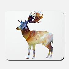 Fallow deer Mousepad