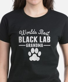 World's Best Black Lab Grandma T-Shirt