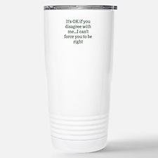Cute Wrong Travel Mug