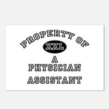 Property of a Physician Assistant Postcards (Packa