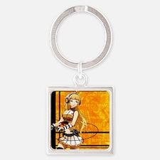 Cute Vols Square Keychain