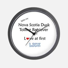 Toller Lick Wall Clock