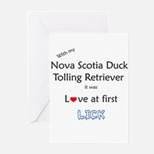 Toller Lick Greeting Cards (Pk of 10)