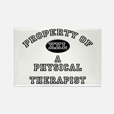 Property of a Physical Therapist Rectangle Magnet