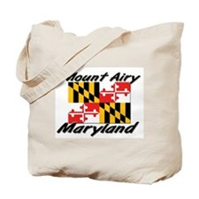 Mount Airy Maryland Tote Bag
