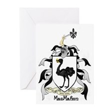 MacMahon Coat of Arms Greeting Cards (Pk of 20)