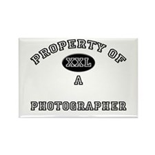 Property of a Photographer Rectangle Magnet