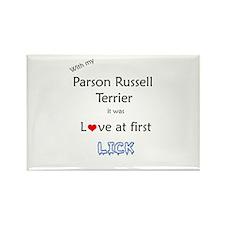 Parson Lick Rectangle Magnet