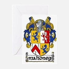 Mahoney Coat of Arms Greeting Cards (Pk of 20)
