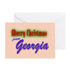 Georgia Christmas Cards (Pk of 20)