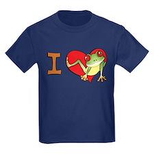 I heart frogs T