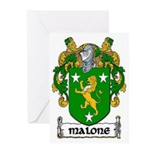 Malone Coat of Arms Greeting Cards (Pk of 20)