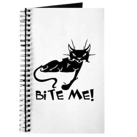 Bite Me Cat Journal