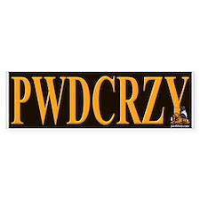 PWDCRZY Bumper Bumper Sticker
