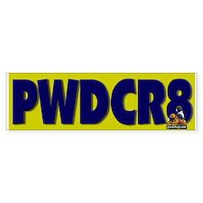 PWDCR8 Bumper Bumper Sticker
