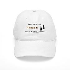 Scrabble Queen Cap
