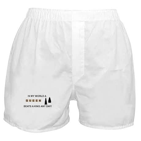 Scrabble Queen Boxer Shorts
