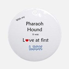 Pharaoh Lick Ornament (Round)