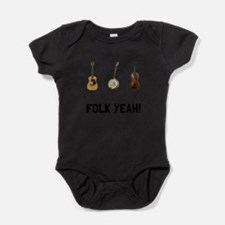 Funny With the band Baby Bodysuit