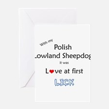 Lowland Lick Greeting Card