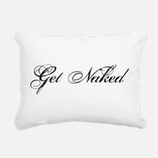 Get naked Rectangular Canvas Pillow