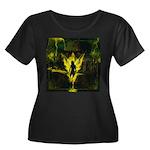 Lucifuge Women's Plus Size Scoop Neck Dark T-Shirt