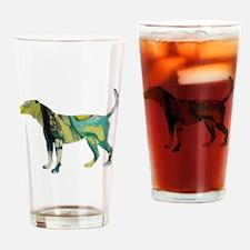 Funny English foxhound Drinking Glass