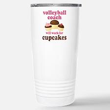 Funny Volleyball coach Travel Mug