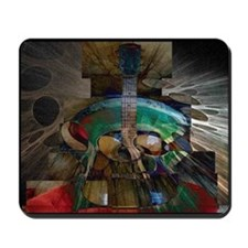 Guitar Collage Mousepad