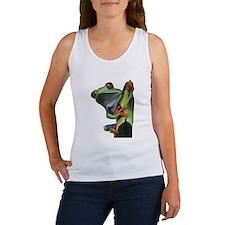 Cute Tree frog Women's Tank Top