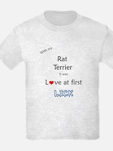 Rat Terrier Lick T-Shirt