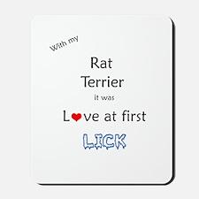 Rat Terrier Lick Mousepad
