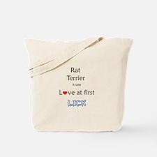 Rat Terrier Lick Tote Bag