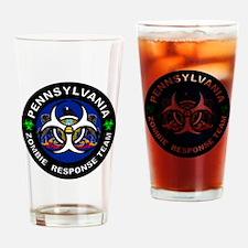 PA ZRT White Drinking Glass