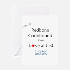Redbone Lick Greeting Card