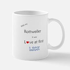 Rottweiler Lick Mug